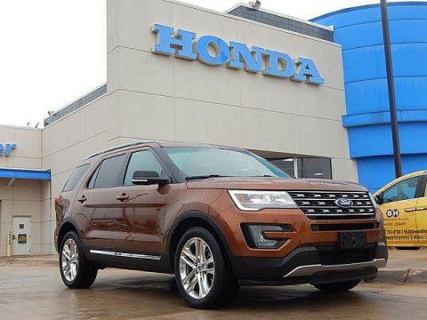 Pre-Owned 2017 Ford Explorer XLT | 4x4 | CLEAN! | 405-753-8700 | BOB HOWARD HONDA!