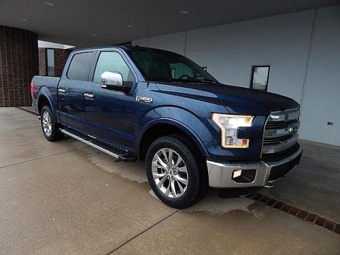 Pre-Owned 2015 Ford F-150 Lariat | BOB HOWARD DODGE 405-936-8900 | LEATHER | FX4 PACKAGE | TOW PACKAGE