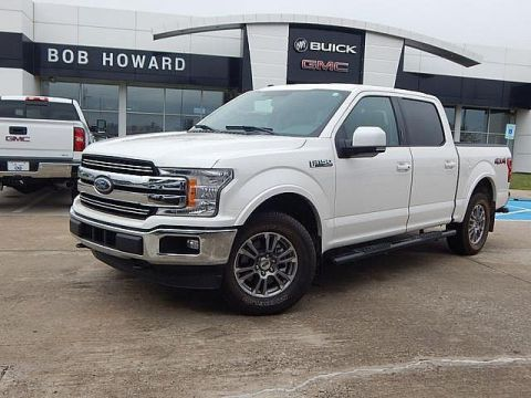 Pre-Owned 2018 Ford F-150 LARIAT 4X4 | BOB HOWARD BUICK GMC 405.936.8800 | CLEAN CARFAX | LEATHER | LOW MILES