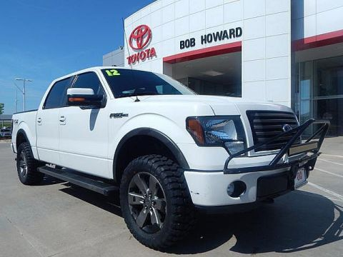 Pre-Owned 2012 Ford F-150 FX4-LEATHER-LOADED-CALL BOB HOWARD TOYOTA AT 405-936-8600