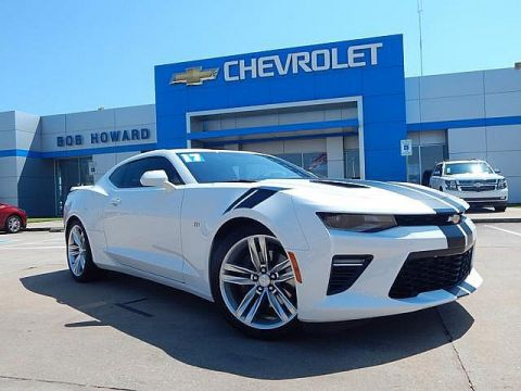 Pre-Owned 2017 Chevrolet CAMARO | BOB HOWARD CHEVROLET 405-748-7700 | 2SS | 50TH ANNIVERSARY | LEATHER | HEATED SEATS | COOLED SEATS | BACK UP CAMERA | CLEAN CAR FAX | ONE OWNER | LAUNCH CONTROL | BLIND SPOT AWARENESS | HEADS UP DISPLAY |