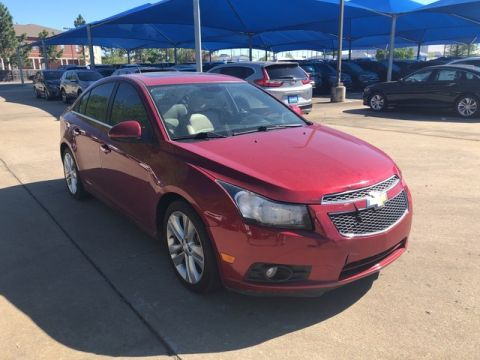 Pre-Owned 2012 Chevrolet Cruze LTZ***LEATHER***HEATED SEATS***SUNROOF***SP CHEVY 918-481-8000