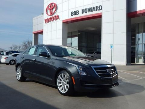 Pre-Owned 2017 Cadillac ATS Sedan RWD-CALL BOB HOWARD TOYOTA TODAY 405-936-8600 !!!!