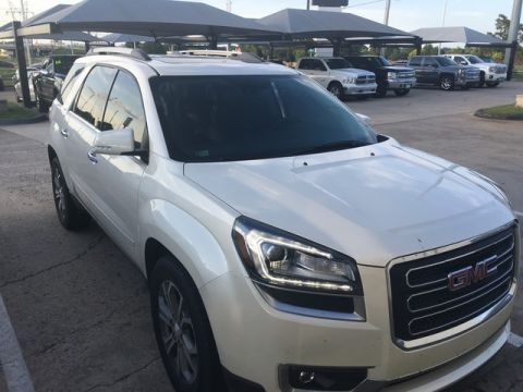 Pre-Owned 2014 GMC Acadia SLT | BOB HOWARD BUICK GMC 405.936.8800 | 1OWNER CLEAN CARFAX | LEATHER | PRICED TO MOVE