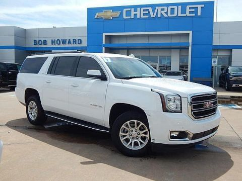 Pre-Owned 2017 GMC YUKON XL | BOB HOWARD CHEVROLET 405-748-7700 | LEATHER | BACK UP CAMERA | HEATED/COOLED SEATS | CLEAN CAR FAX | ONE OWNER | PREMIUM WHEELS |