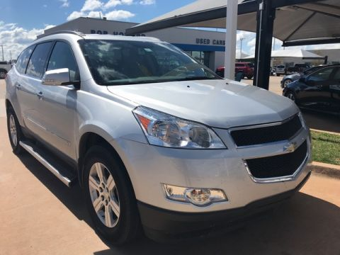 Pre-Owned 2010 Chevrolet TRAVERSE | BOB HOWARD CHEVROLET 405-748-7700 | TRAVERSE LT | GREAT VALUE FAMILY SUV | CLEAN CAR FAX | CHECK IT OUT!!! |