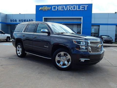Pre-Owned 2018 Chevrolet Tahoe | BOB HOWARD CHEVROLET 405-748-7700 | HEATED STEERING WHEEL | COOLED SEATS | PREMIER |