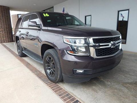 Pre-Owned 2016 Chevrolet Tahoe LT | BOB HOWARD DODGE 405-936-8900 | 20 INCH WHEELS | TOW PACKAGE | LEATHER