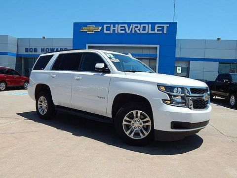 Pre-Owned 2019 Chevrolet Tahoe | BOB HOWARD CHEVROLET 405-748-7700 | 4X4 | LEATHER | HEATED SEATS |