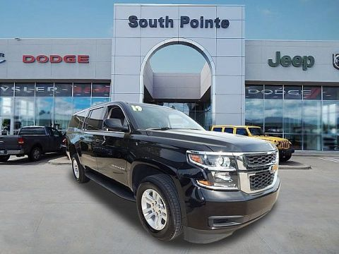 Pre-Owned 2019 Chevrolet Suburban LT | SAVE THOUSANDS OVER A NEW ONE | SOUTH POINTE CJD