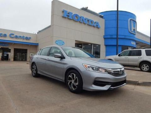 Pre-Owned 2016 Honda Accord Sedan LX | BACKUP CAMERA | 405-753-8700 | Honda STORE! | CERTIFIED!