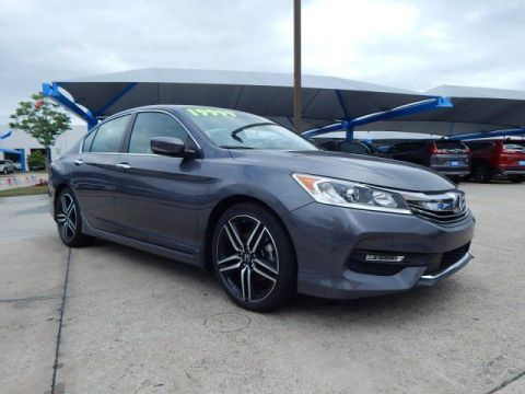 Pre-Owned 2017 Honda Accord Sport SP Honda 918-491-0100