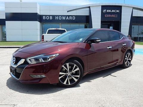Pre-Owned 2016 Nissan Maxima 3.5 Platinum | BOB HOWARD BUICK GMC 405.936.8800 | PANO ROOF | NAV | 1OWNER CAR