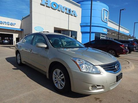 Pre-Owned 2010 Nissan Altima 2.5 S | LOW MILES! | LEATHER | BH Honda! | 405-753-8700