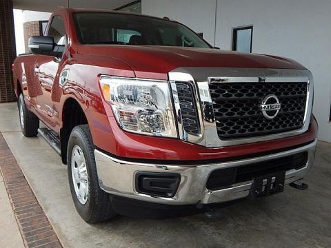 Pre-Owned 2017 Nissan Titan XD SV | BOB HOWARD DODGE 405-936-8900 | LOW MILES | TOW PACKAGE