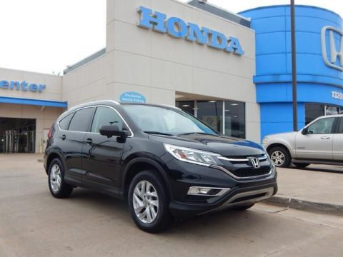 Pre-Owned 2016 Honda CR-V EX-L | LEATHER | BLUETOOTH | SUNROOF | BACKUP CAMERA | 405-753-8700 | Honda STORE!