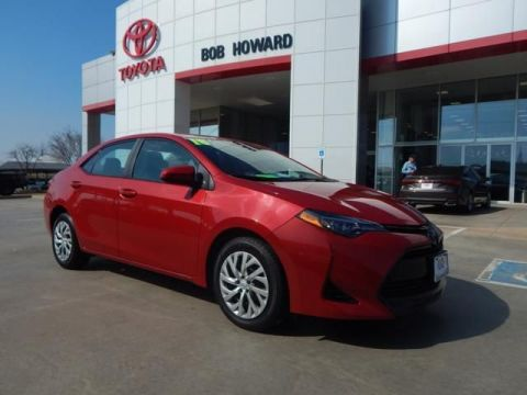 Pre-Owned 2018 Toyota Corolla L-CALL BH TOYOTA 405-936-8600