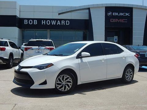 Pre-Owned 2018 Toyota Corolla LE | BOB HOWARD BUICK GMC 405.936.8800 | 1OWNER CLEAN CARFAX | BACKUP CAMERA | KEYLESS ENTRY