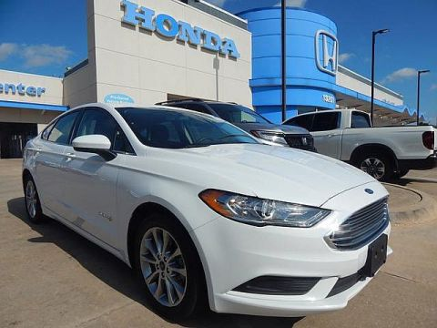Pre-Owned 2017 Ford Fusion Hybrid SE | BH Honda! | 405-753-8700