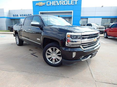 Pre-Owned 2017 Chevrolet SILVERADO 1500 | BOB HOWARD CHEVROLET 405-748-7700 | FULLY LOADED WITH SADDLE LEATHER| 1 OWNER CLEAN CARFAX| RIDE IN STYLE| HEATED SEATS AND COOLED SEATS|