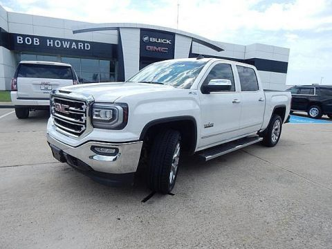 Pre-Owned 2016 GMC Sierra 1500 SLT 4X4 | BOB HOWARD BUICK GMC 405.936.8800 | HTD LEATHER SEATS | CLEAN CARFAX | ASSIST STEPS | TOW PKG | STRONG TRUCK!