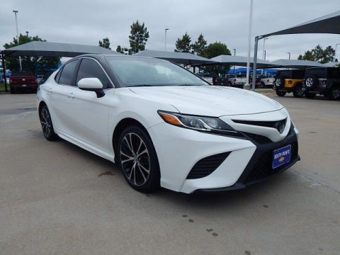 Pre-Owned 2018 Toyota Camry SE***ADAPTIVE CRUISE CONTROL***LANE KEEP ASSIST***LEATHER***SP CHEVY 918-481-8000