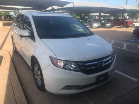 Pre-Owned 2016 Honda Odyssey EX-L | NAVIGATION | LEATHER | FAMILY FUN! | 405-753-8700 | BOB HOWARD Honda!