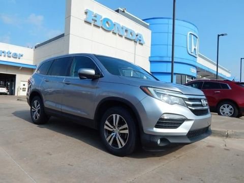 Pre-Owned 2016 Honda Pilot EX | 3RD ROW | ALLOYS | BACKUP CAMERA | BLUETOOTH | 405-753-8700 | Honda STORE!