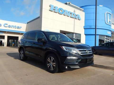 Pre-Owned 2016 Honda Pilot EX-L | ALL WHEEL DRIVE | NAVIGATION | LEATHER | 3RD ROW | 405-753-8700 | Honda STORE!