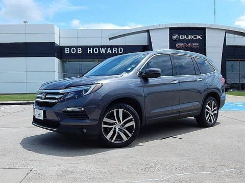 Pre-Owned 2016 Honda Pilot Touring | BOB HOWARD BUICK GMC 405.I36.8800 | AWD | NAV | MOONROOF | TV/DVD | CLEAN CARFAX