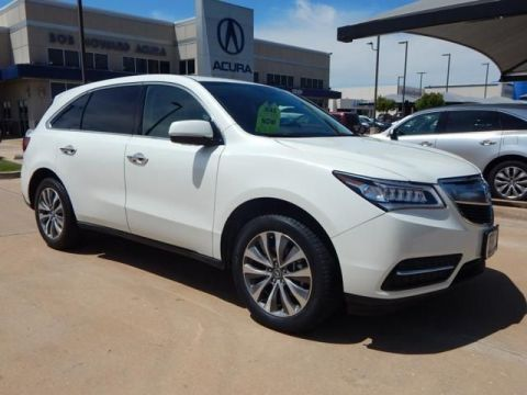 Certified Pre-Owned 2016 Acura MDX with Technology and Entertainment Packages SUV