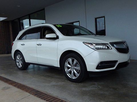 Pre-Owned 2015 Acura MDX Advance/Entertainment Pkg | BOB HOWARD DODGE 405-936-8900