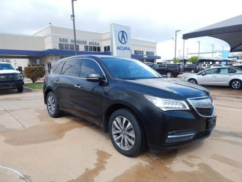 Certified Pre-Owned 2015 Acura MDX SH-AWD with Technology Package All Wheel Drive SUV