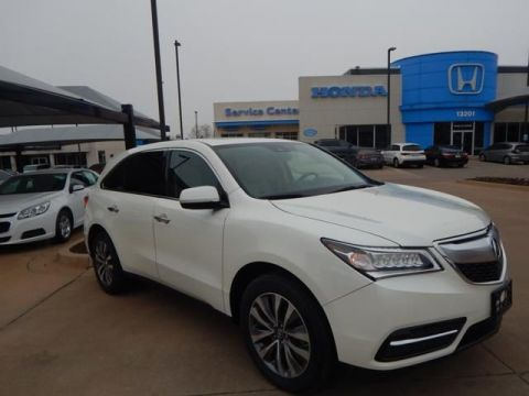 Pre-Owned 2016 Acura MDX w/Tech | ALL WHEEL DRIVE | NAVIGATION | 1 OWNER | 3RD ROW!