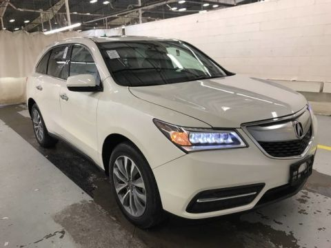 Pre-Owned 2016 Acura MDX w/Tech | NAVIGATION | ACURA WATCH | ADAPTIVE CRUISE! | CLEAN 1 OWNER! | ALL WHEEL