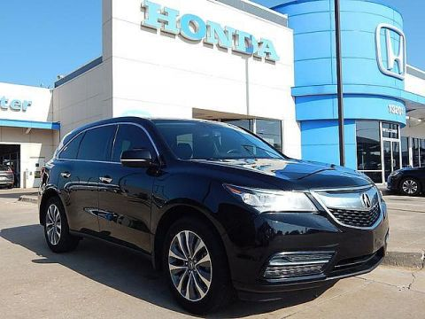 Pre-Owned 2014 Acura MDX Tech Pkg | ALL WHEEL DRIVE! | 3RD ROW | LEATHER | NAVIGATION! | BH Honda! | 405-753-8700