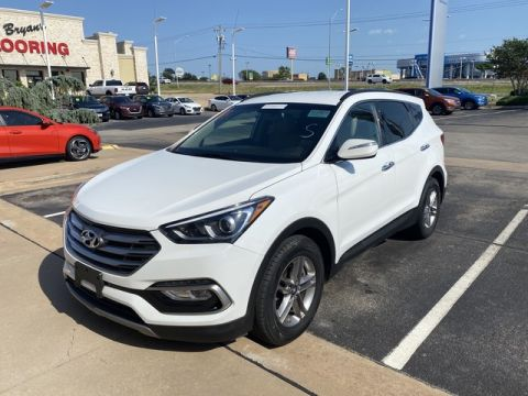 Pre-Owned 2017 Hyundai Santa Fe Sport 2.4L | PREMIUM | LEATHER | SAFETY FEATURES! | 405-634-8900