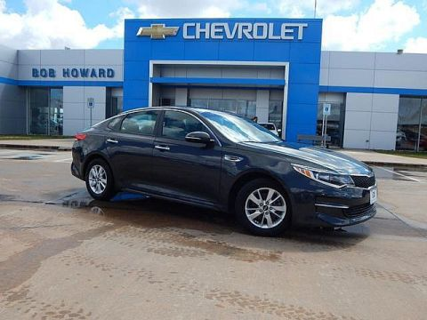 Pre-Owned 2016 Kia OPTIMA | BOB HOWARD CHEVROLET 405-748-7700 | CLEAN CAR FAX | ONE OWNER | GREAT MPGS | PREMIUM WHEELS |