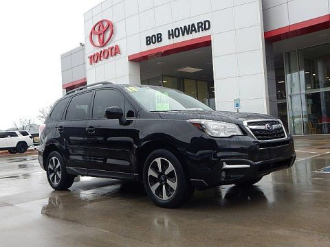 Pre-Owned 2018 Subaru Forester Premium Black Edition