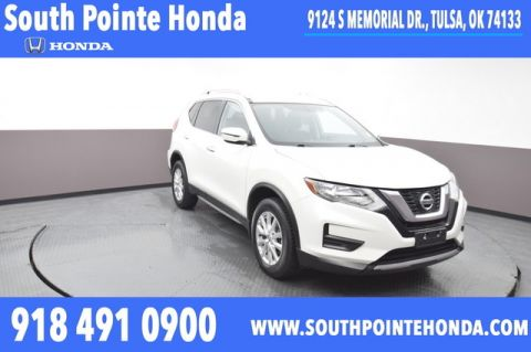 Pre-Owned 2017 Nissan Rogue SV AWD SP Honda 918-491-0100