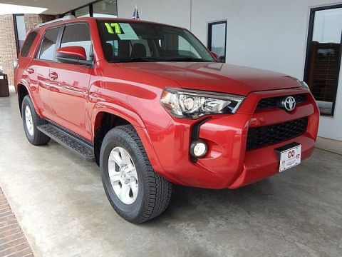 Pre-Owned 2017 Toyota 4Runner SR5 | BOB HOWARD DODGE 405-936-8900 | NAV | BACK UP CAMERA