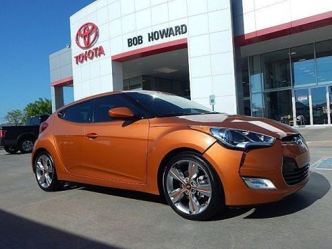 Pre-Owned 2016 Hyundai Veloster LEATHER-LOADED**CALL BOB HOWARD TOYOTA AT 405-936-8600**