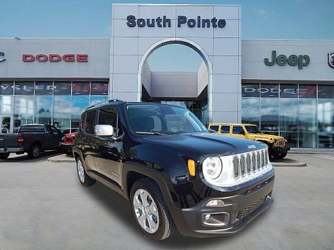 Pre-Owned 2018 Jeep Renegade Limited | CERTIFIED | LEATHER | SOUTH POINTE CJD